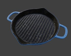3D model Iron Grill Pan