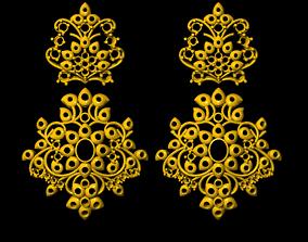 3D print model Earrings earrings jewelry
