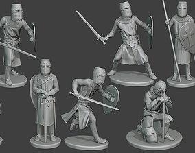 Knight Templar T1 Pack1 3D model