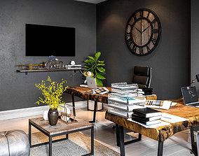 3D model Mini Office Design furniture