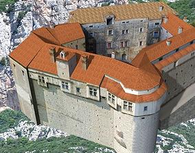 istra 3D model Castle