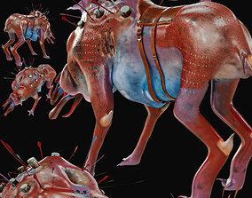 3D Sci-fi animal