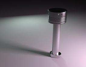 3D model Two stroke piston diesel engine