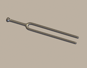 3D asset Tuning Fork