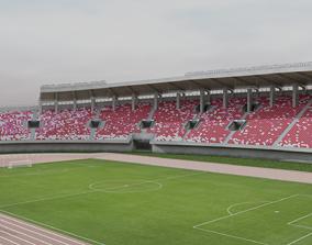 3D asset Tianhe Stadium Guangzhou China