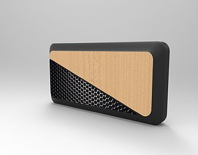 3D product design powerbank and speaker portable