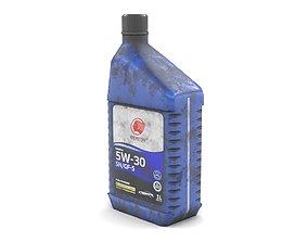 3D asset Oil Bottle