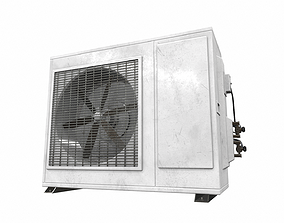 3D Air conditioner outdoor 2a