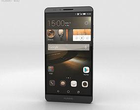 3D Huawei Ascend Mate 7 Obsidian Black