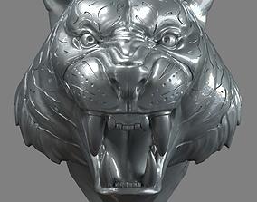 3D printable model tiger Tiger Head 01