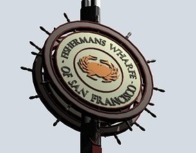 Fishermans Wharf 3D model