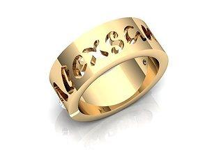 3D print model Ring BK222