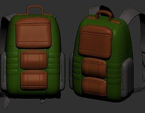 backpack high poly sculpt 3d printable ver 7 3D 2