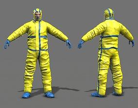 3D asset Hazmat Worker