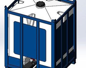 Assmans-ACO Container - Pallet Tank - PTC-250 3D
