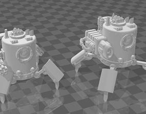 Robot Crawler Sentry 3D printable model