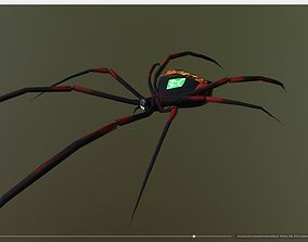 Black Widow Emerald Spider 3D model