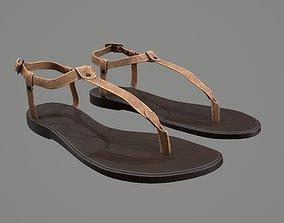 3D PBR Sandals