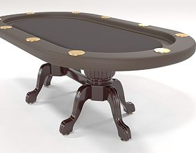 Elite Poker Table 3D model