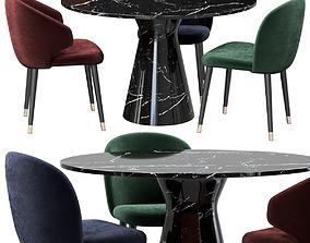 Eichholtz Dining Chair Volante 3D