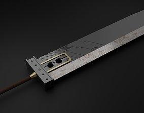 Buster Sword FFVII Remake 3D model