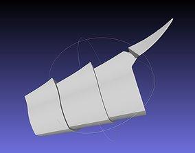 3D printable model Shield Hero Curse Armor Shin Piece