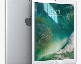 3D asset realtime Apple iPad 9-7 2017 Silver