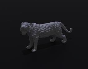 3D printable model Voxel Tiger