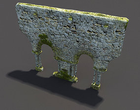 English Castle Ruin 3D model