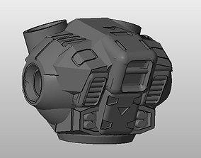chibi-tech-sd 3D print model CHIBI-TECH SD - GOLIATH CORE