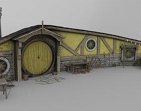 Halfling Home 2 3D model