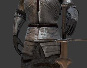 Heavy Knight 3D asset