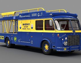 bartoletti Race Transporter - Team Maserati 3D model