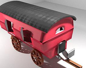 3D Wagon - Vardo Romani