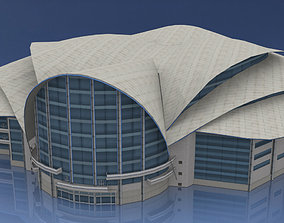 Hong Kong Convention and Exhibition Centre 3D model