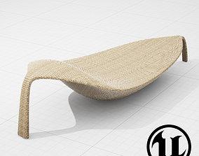 3D model Dedon Leaf UE4