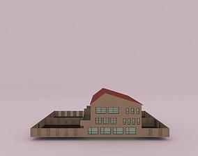 3D model Suburban House 2