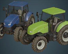 Tractor 1B 3D asset