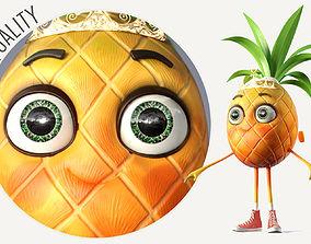 Pineapple Girl 3D model