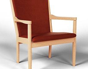 Easy Chair 3D Model - Blender 3D