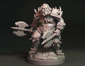 3D printable model Mikhail Bakunin Orc