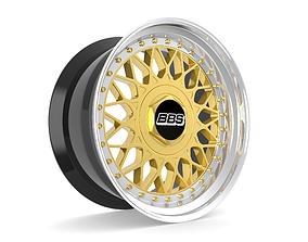 BBS RM Custom Wheels rm 3D model