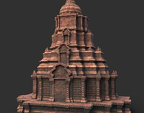 3D model Low poly Ancient Temple 11