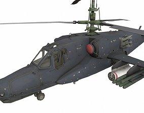 Ka-50 3D asset