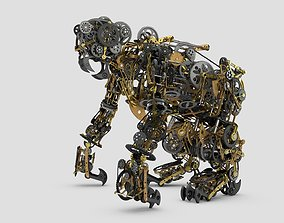 3D model Mechanical Monkey