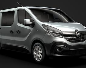 Renault Trafic Combi 2020 3D