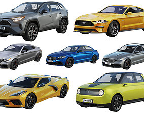 3D model HQ cars collection 2