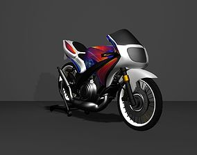kawasaki ninja RR costum 3D model