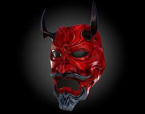 Uncle Oni Mask 3D printable model