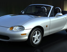3D model Mazda Miata MX-5 NB V-Ray